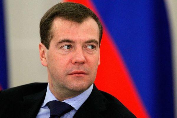 Дмитрий Медведев, Председатель правительства РФ: