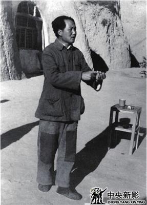 毛泽东给 120 师干部讲话