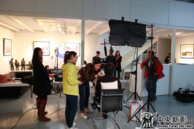 《岁月丹青》摄制组工作照