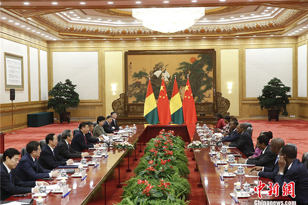 China, Guinea to establish strategic partnership