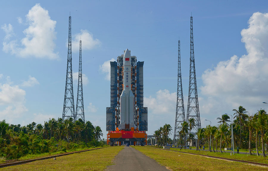 The Wenchang launch center in south China