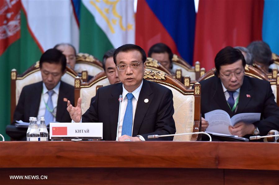 Li Keqiang appelle au renforcement de la coopération au sein de l