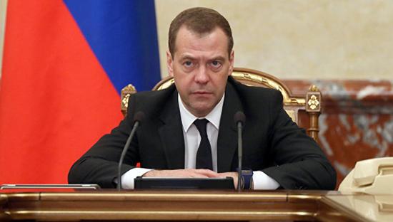 Архив: Председатель Правительства Российской Федерации Дмитрий Медведев