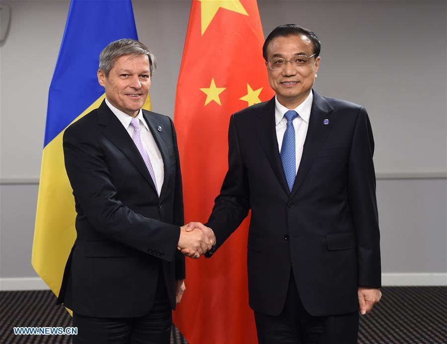 La Chine et la Roumanie s
