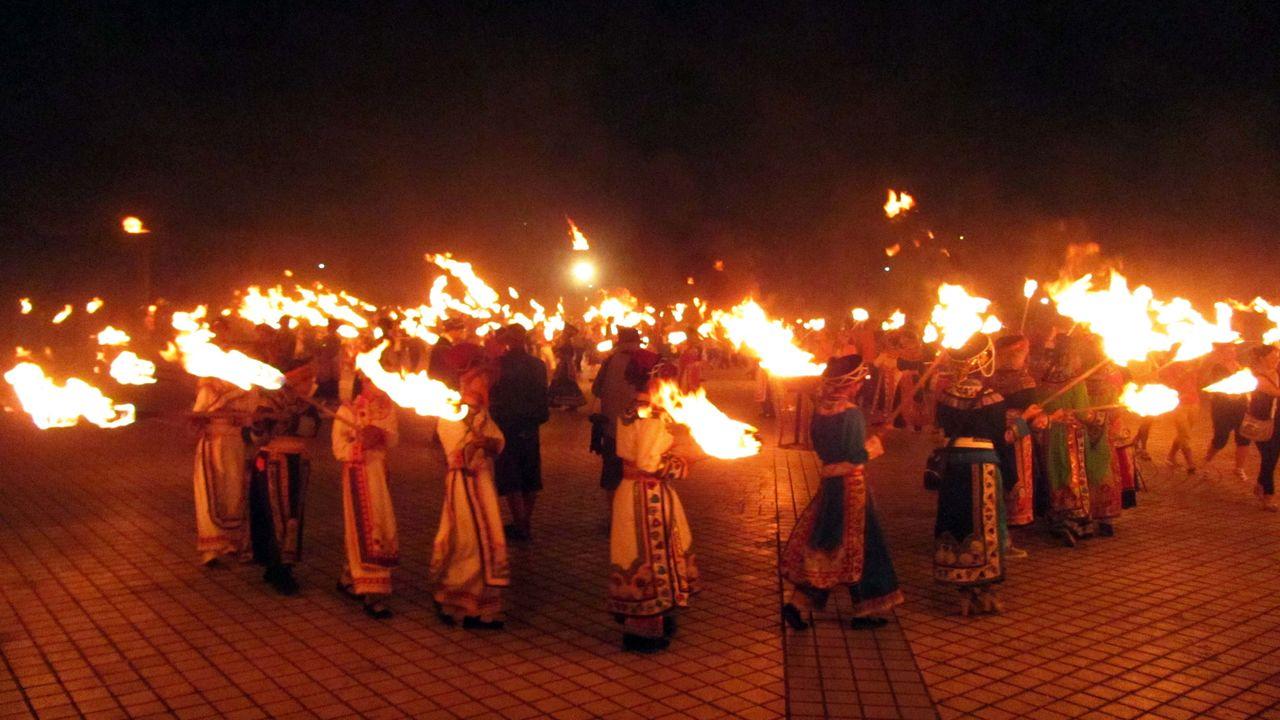 非遗彝族火把节 传承彝族历史文化