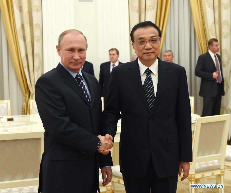 La Chine et la Russie pour plus de coopération