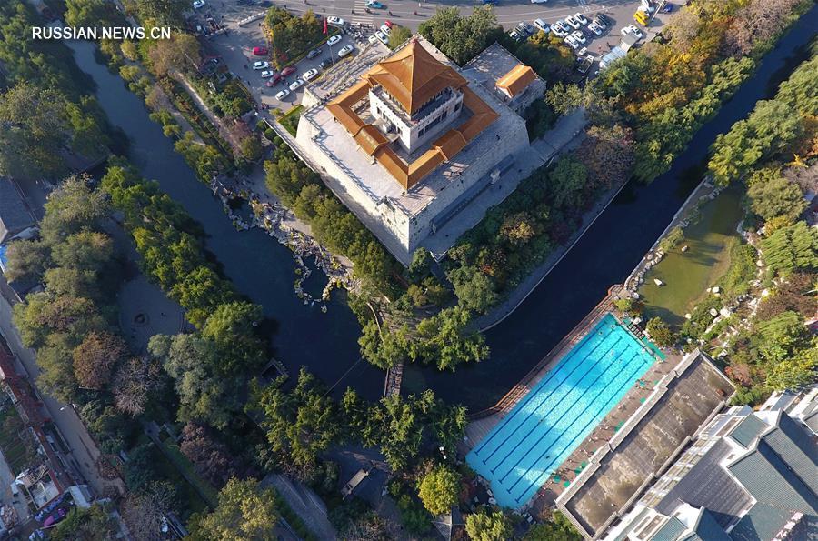 """Цзинань становится первым в Китае """"городом водной культуры"""""""