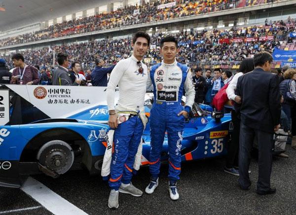 """WEC :  Ho-pin TUNG, un pilote néerlandais avec """"un rêve chinois"""""""