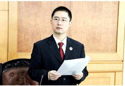 CCTV2016年度法治人物候选人:王盛