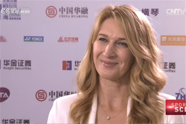 Tennis legend is ambassador for WTA Elite Trophy in Zhuhai.