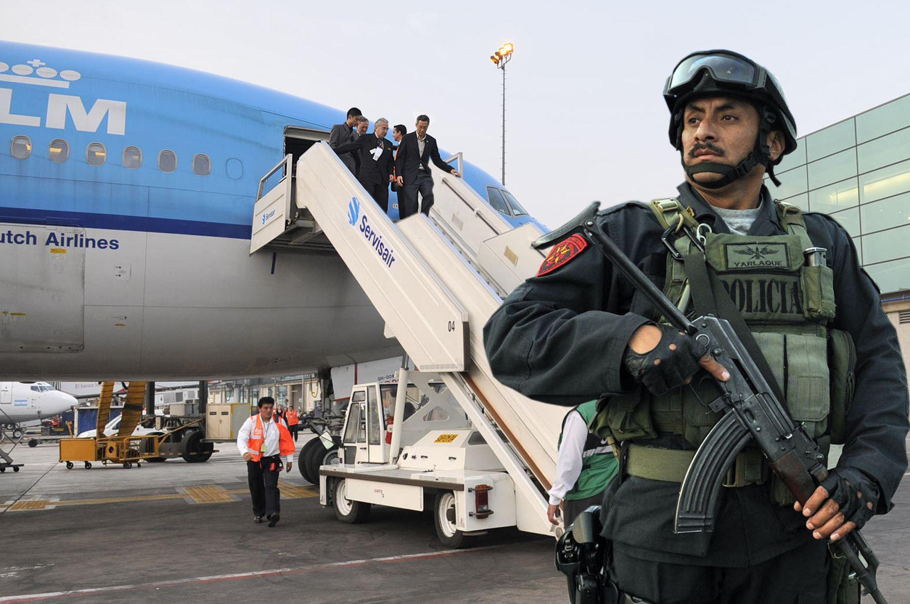 Seguridad y resguardo, listos para la cita de la APEC