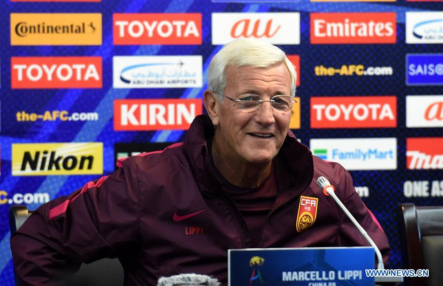 Marcello Lippi, head coach of China