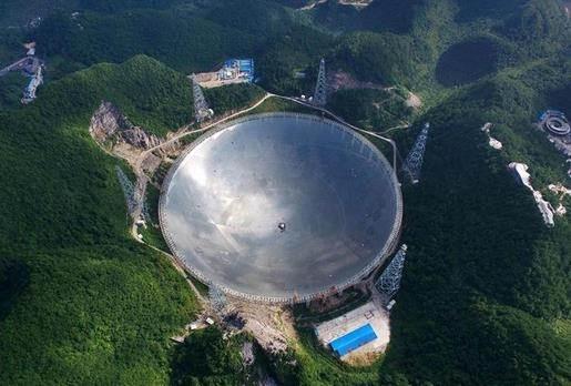 望远镜图片:中国天眼望远镜图片