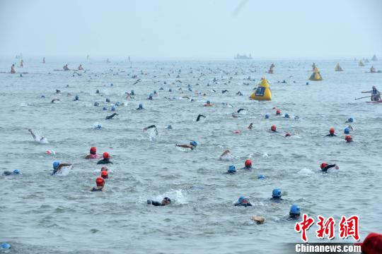Ironman 70.3 - Xiamen: Scenic route provides beautiful back-drop for triathlon