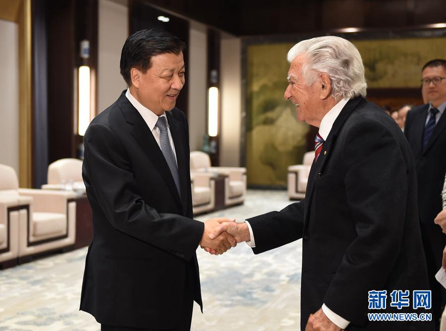 التقى ليو يون شان مع رئيس الوزراء الأسترالي الأسبق بوب هوك