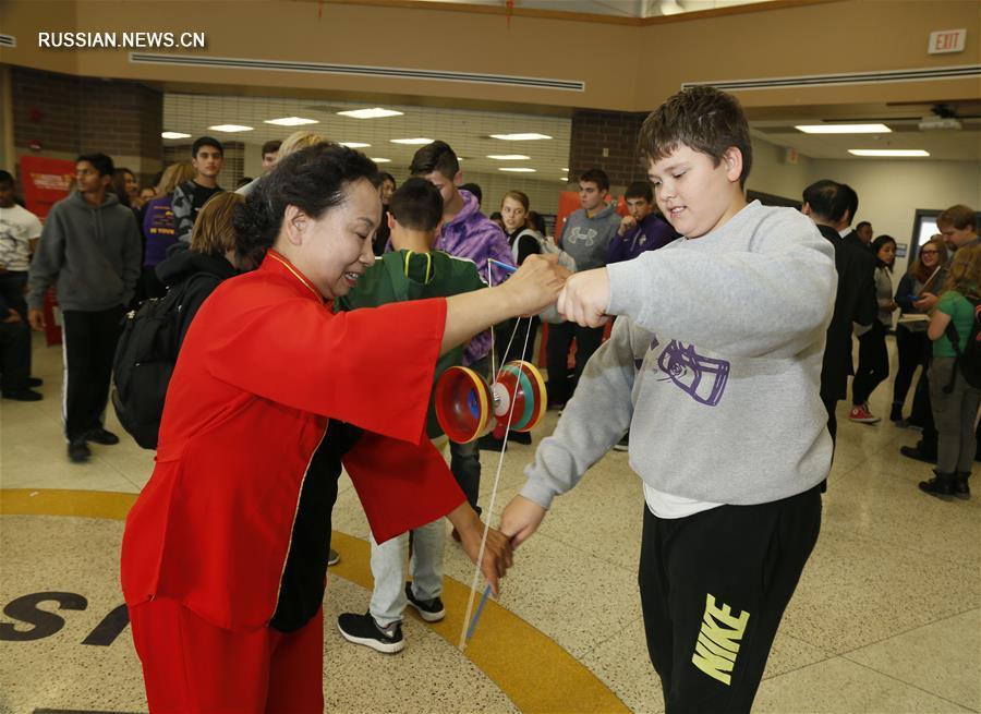 Фестиваль китайской культуры в штате Айова