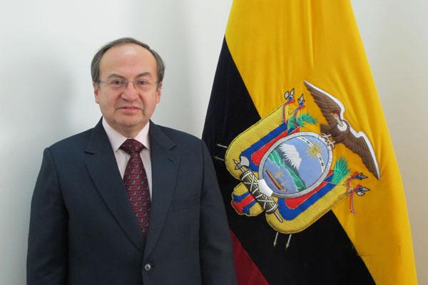 Хосе Борха, Посол Эквадора в Китае