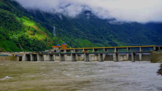 辛克雷水电站大坝(中国电建提供)