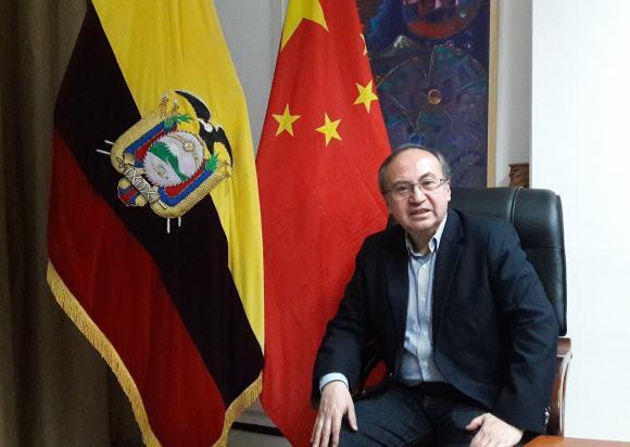 embajador de Ecuador en China, José Borja