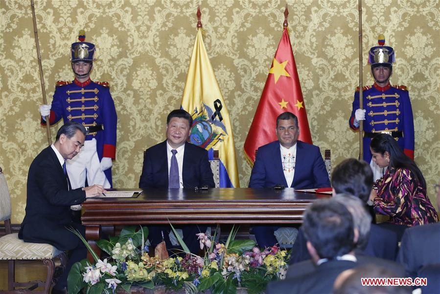La Chine et l'Équateur s'accordent pour approfondir leur partenariat