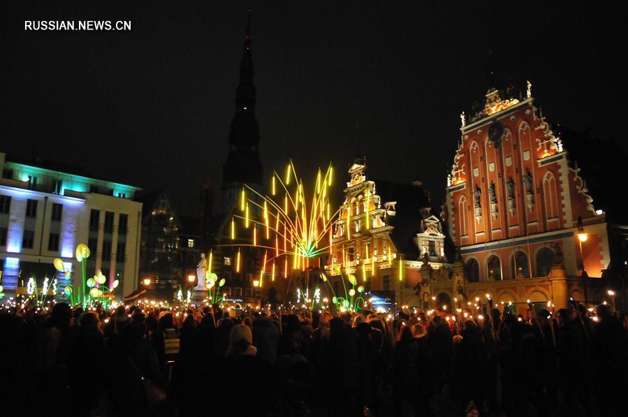Фестиваль света в Риге