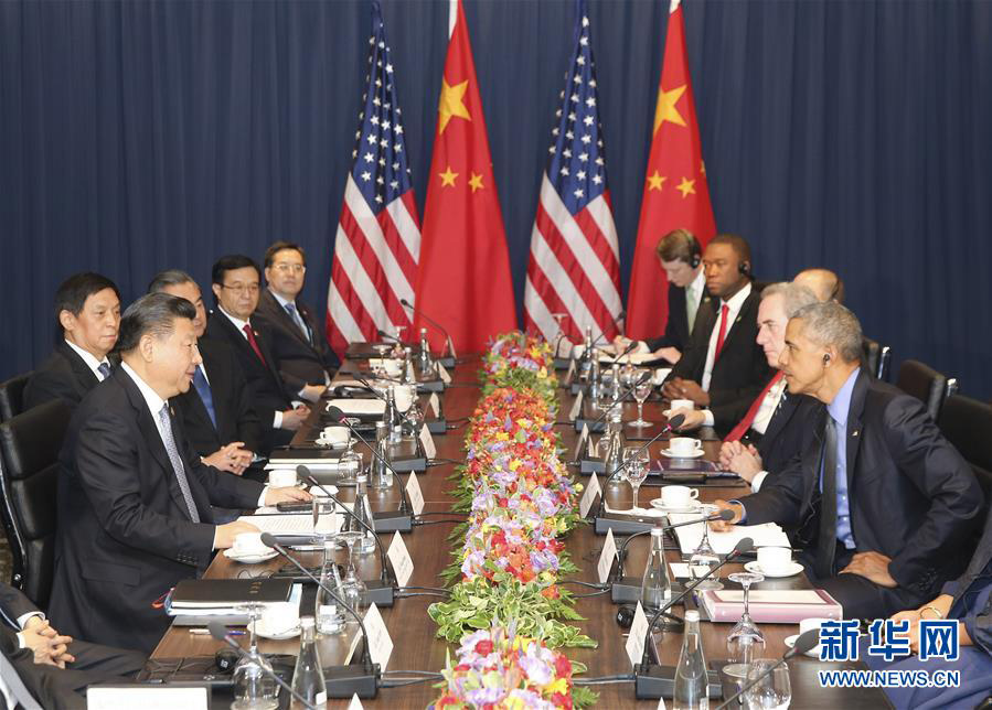 Xi y Obama se reúnen sobre lazos China-EEUU en el marco de reunión APEC