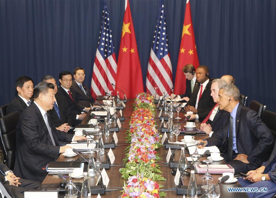 Xi Jinping et Barack Obama conviennent de maintenir le développement ferme et stable des relations sino-américaines
