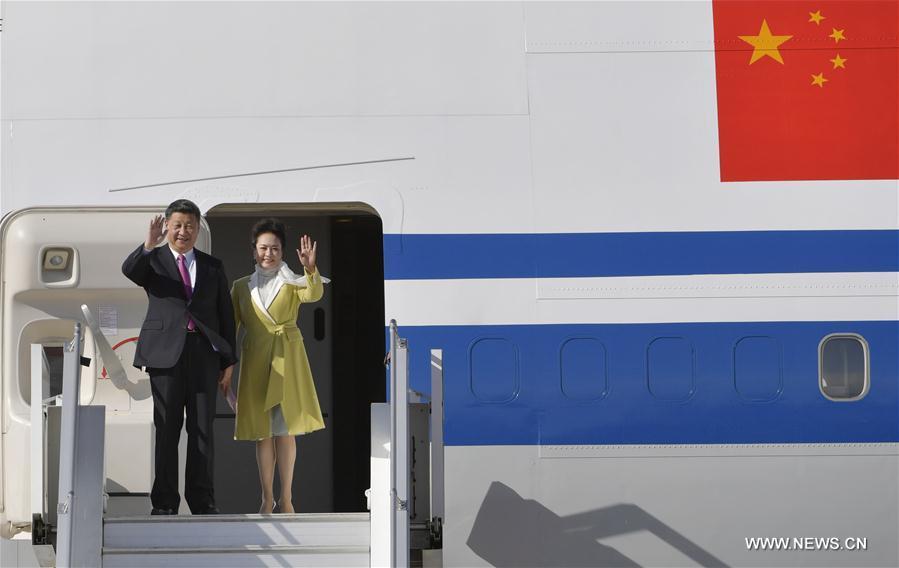 Le président chinois Xi Jinping est arrivé jeudi 17 novembre à Quito pour une visite d