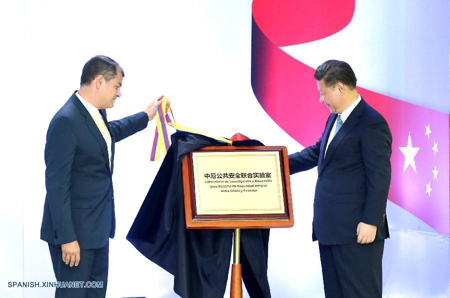 El presidente de China, Xi Jinping, de visita en Quito, prometió hoy más apoyo para la reconstrucción y el alivio luego del terremoto ocurrido en Ecuador.