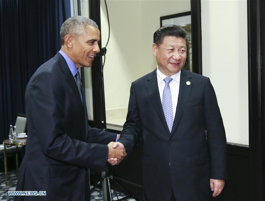 Xi et Obama d