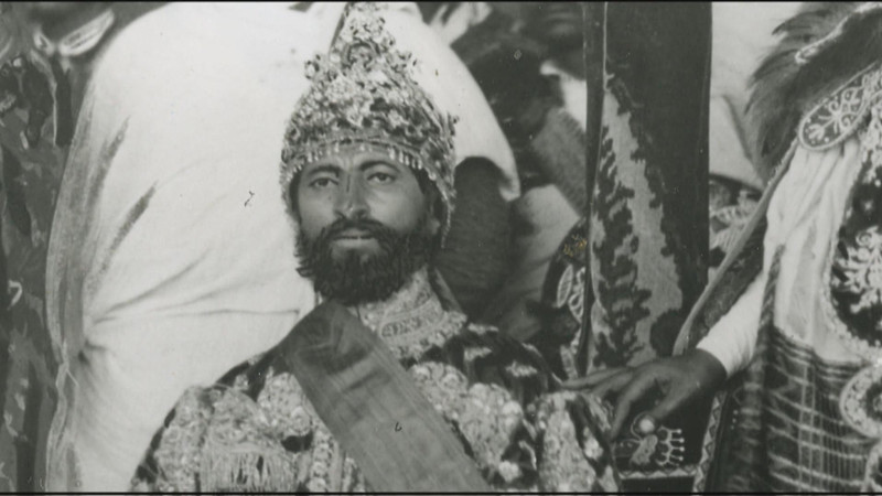 Emperor Haile Selassie I. His name Haile Selassie means