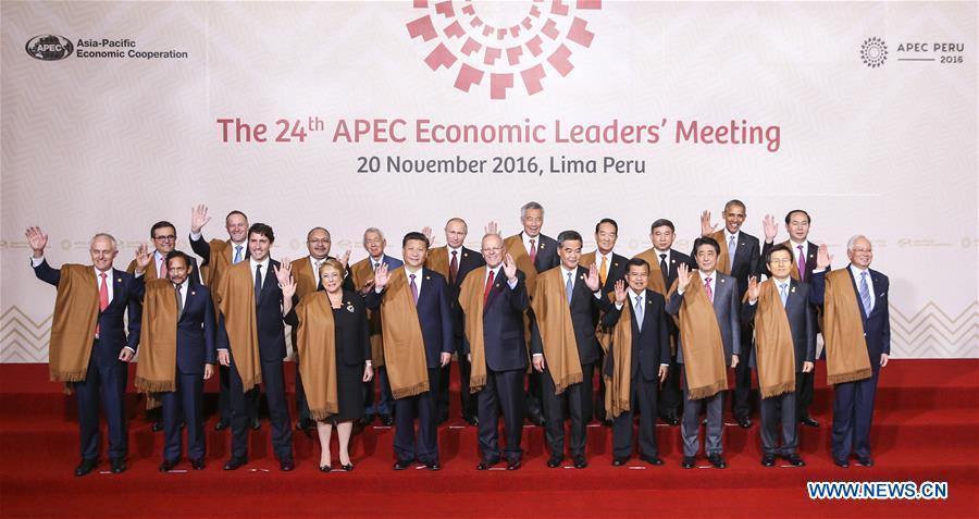 Líderes de APEC apuestan por el libre comercio