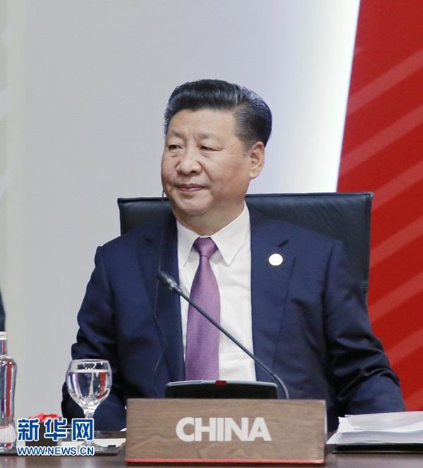 الرئيس الصيني يؤكد أهمية العولمة خلال اجتماع الأبيك 2016
