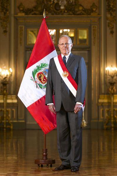 presidente de Perú, Pedro Pablo Kuczynski