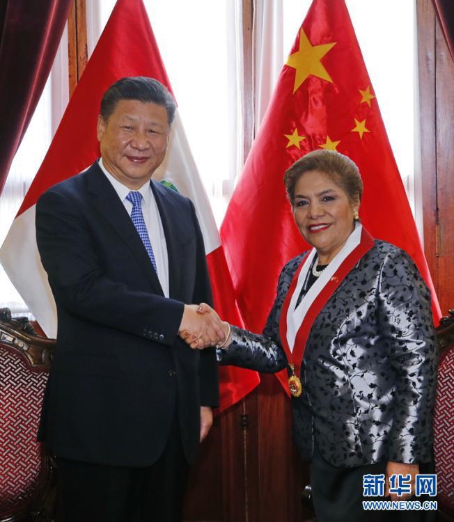 Échanges législatifs entre la Chine et le Pérou