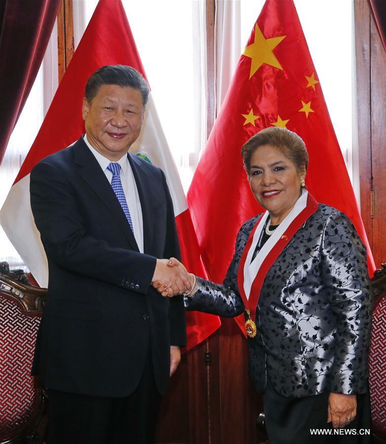 La Chine et le Pérou entendent renforcer leur coopération législative