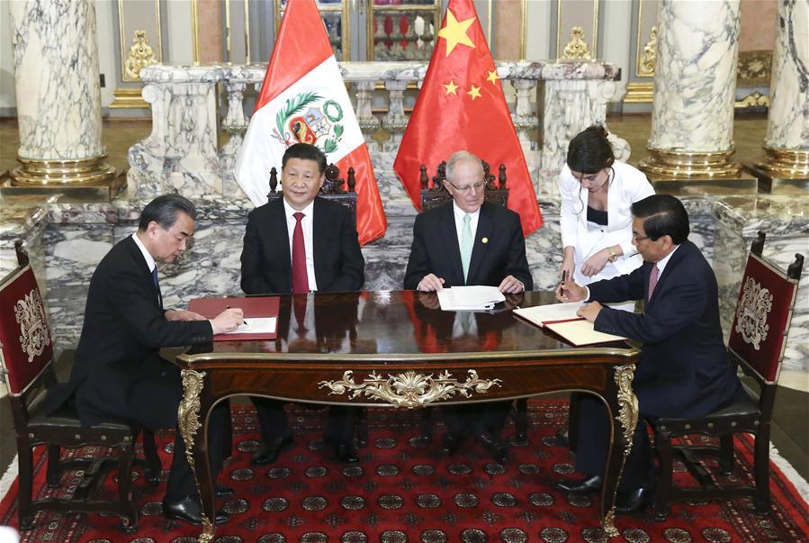 China busca impulsar su asociación estratégica con Perú