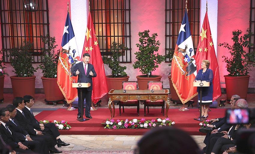 China y Chile deciden estrechar sus lazos  para asociación estratégica integral