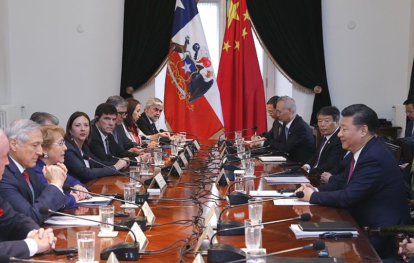 China y Chile elevan lazos a asociación estratégica integral