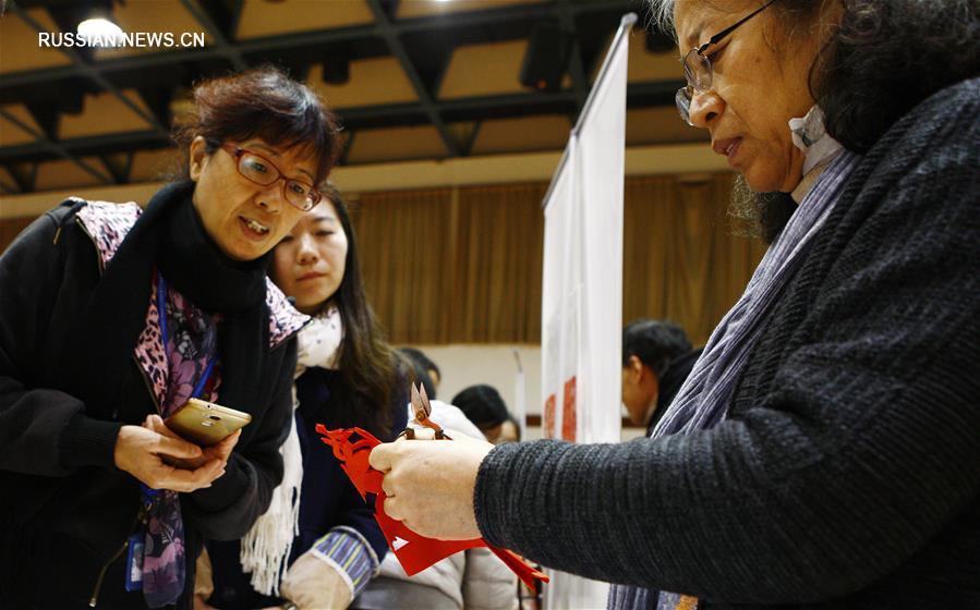 Нематериальное культурное наследие в шанхайских вузах