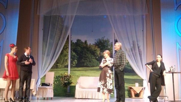 В Забайкалье проходит спектакль «Невеста напрокат» с участием Александра Михайлова