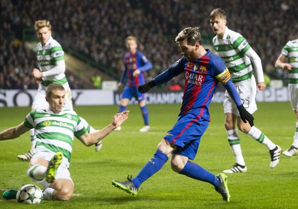 El Barcelona se impone (0-2) al Celtic y ya está en octavos