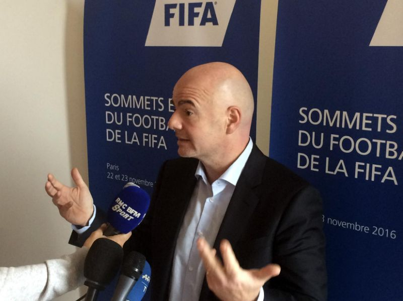 FIFA discute propuesta de expandir número de equipos del Mundial