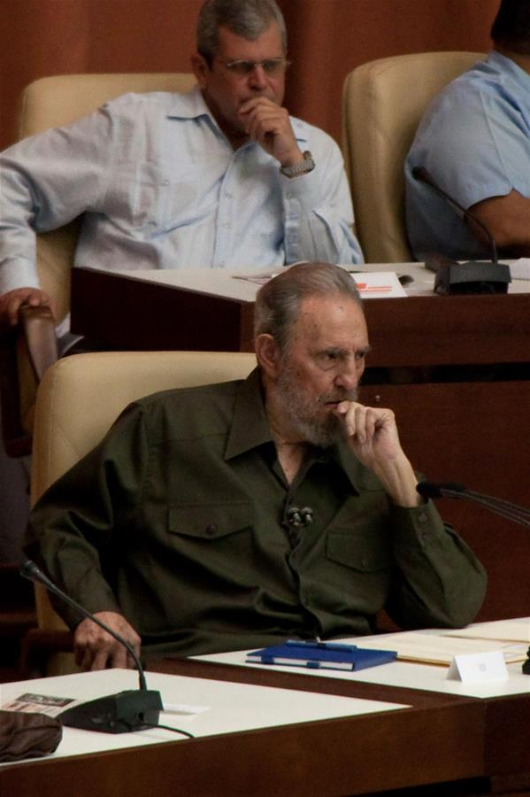 File photo taken on Aug. 7, 2010 shows Fidel Castro in Havana, Cuba. Fidel Castro died at 90, according to Cuban media. (Xinhua/Wang Pei)