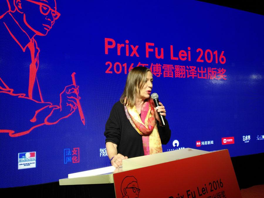 Sylvie Gentil : le Prix Fu Lei est une initiative fantastique