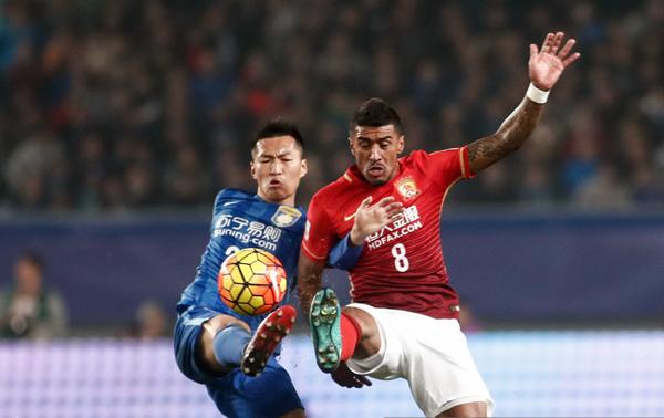 Fútbol: El Guangzhou se proclama campeón de Copa ante el Jiangsu gracias al valor doble de goles a domicilio