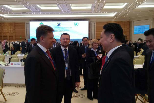 В Туркменистане проходит глобальная конференция ООН по созданию устойчивой транспортной системы