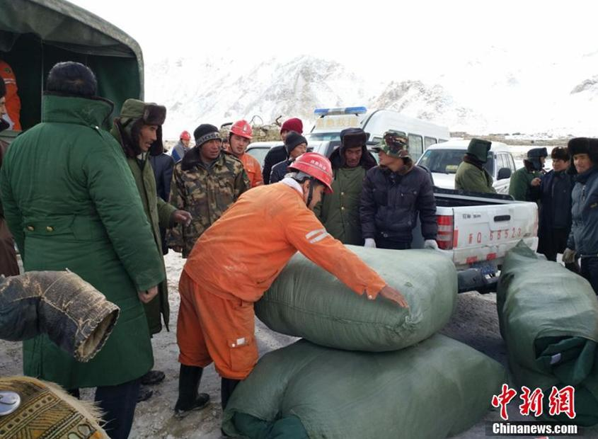 Relief supplies have arrived, including tents, food, coal, and power generators. More than 300 soldiers have been deployed to help the residents.