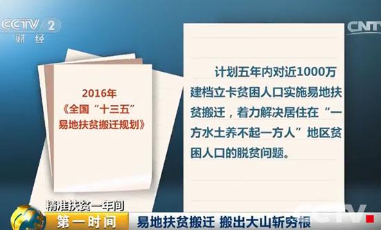 """财经频道集中宣传阐释""""精准扶贫""""思想图片"""