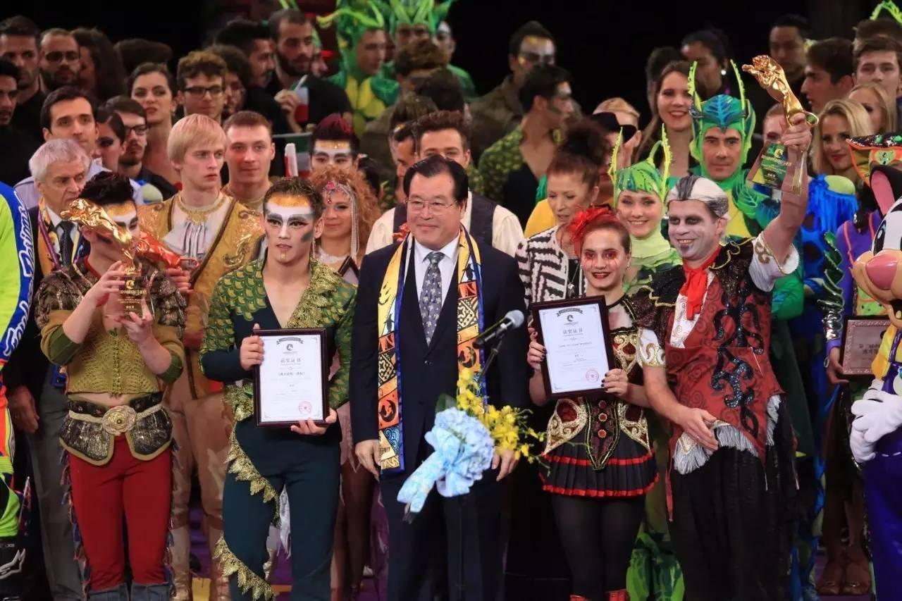 """Артисты цирка Никулина разделили """"золото"""" фестиваля с коллегами из Шанхая"""